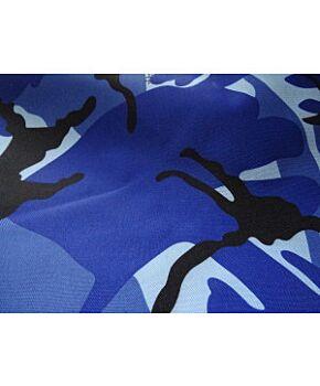 Blue Camo Material