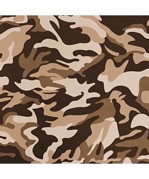 Brown Camo Material