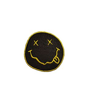 Nirvana Logo Patch Embroidered Iron On / Sew On Patches
