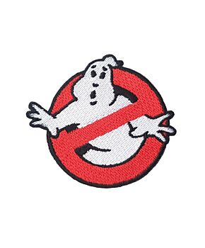 Ghostbuster Logo Embroidery Iron On Sew On Patches